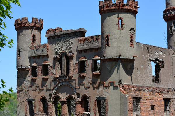 The castle facade