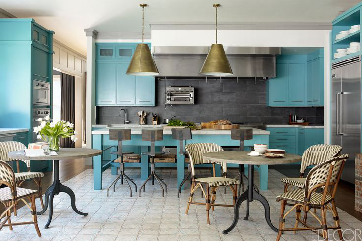 Bobby Flay's Hampton Kitchen/Elle Decor