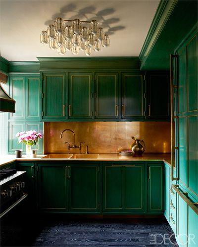 Cameron Diaz's Kitchen/Kelly Wearstler -Elle Decor