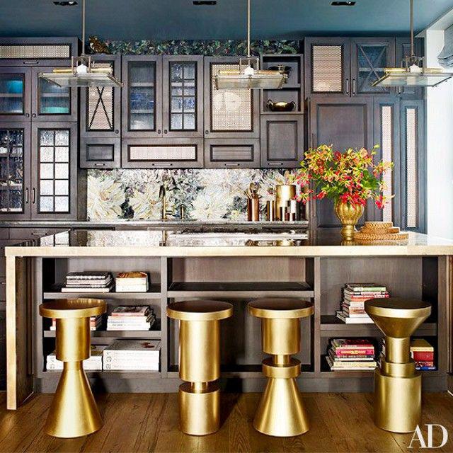 John Legend & Chrissy Teigen/Architectural Digest