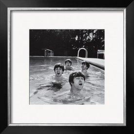 Framed Beatles Picture
