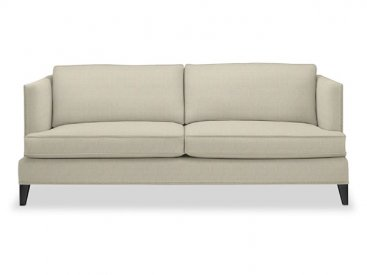 This Transitional Sofa Would Work In An Eclectic Styled Room