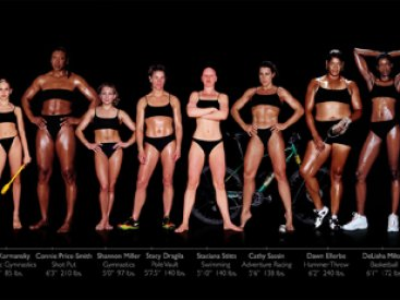 Healthy Body Image Photo by Howard Schatz