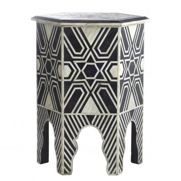 Wisteria Bone Hexa Table