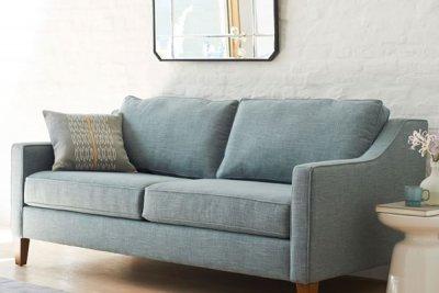 Curved Arm Sofa Urban Home Interior