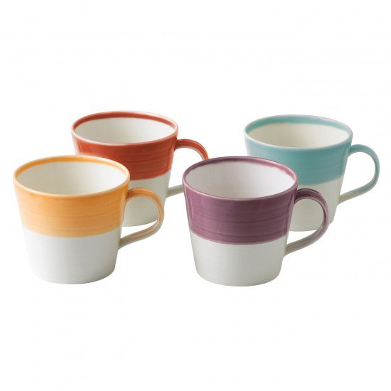 These mugs are so pretty.  Perfect for a host to serve hot beverages to guests during the holiday season.