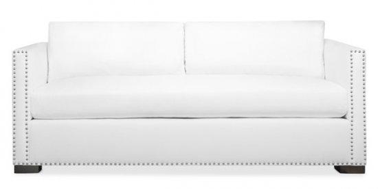 "Clean Lines ""Tuxedo"" Style Sofa"