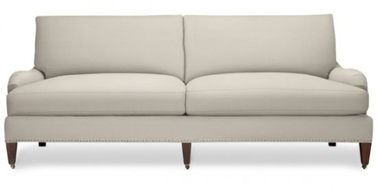 "Classic Traditional ""London Arm"" Sofa"