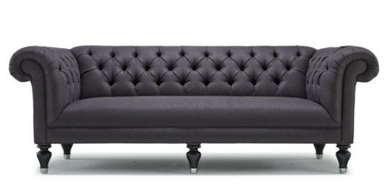 "Traditional ""Chesterfield"" Style Sofa"