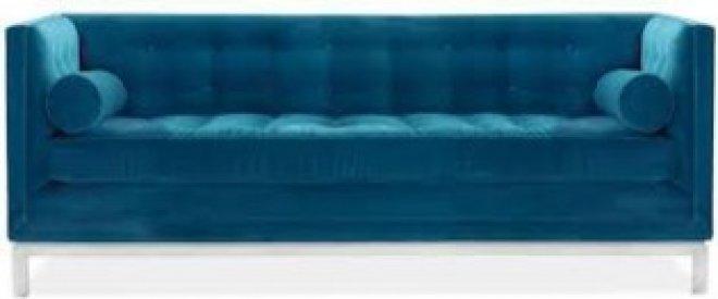 This Chic Sofa Look So Sumptuous